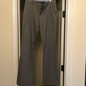 Gap gray flare dress pants